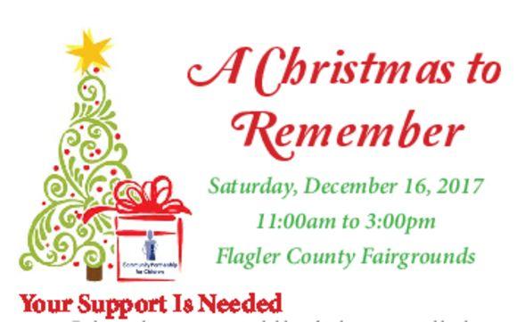 Christmas To Remember.A Christmas To Remember By Community Services Liaison