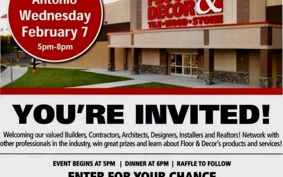 Networking Event at Floor and Decor