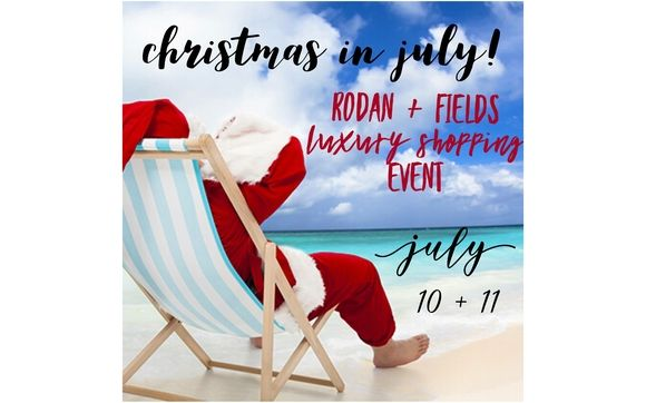 Rodan And Fields Christmas In July 2020 Christmas in July by Rodan and Fields and Peyton's Promise Teena