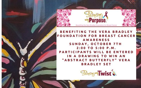 Painting With A Purpose For Vera Bradley Foundation By Painting With A Twist Mansfield In Mansfield Tx Alignable
