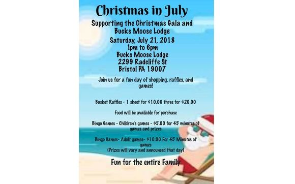 Christmas In July Games And Vendors By Sonya Robinson Independent Consultant For The Pampered Chef In Bensalem Pa Alignable