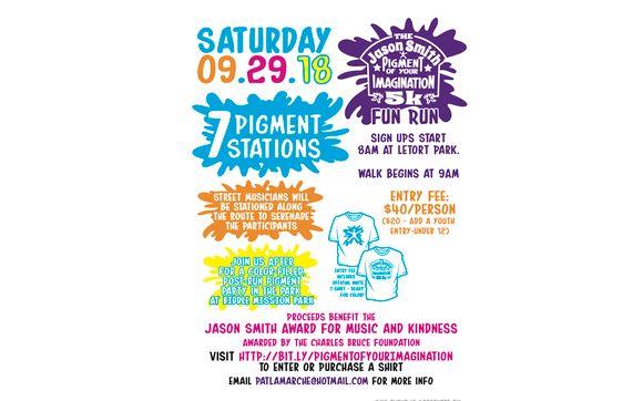 Jason Smith Pigment Of Your Imagination 5k Fun Run Festival By Max Donnelly Design In Carlisle Pa Alignable