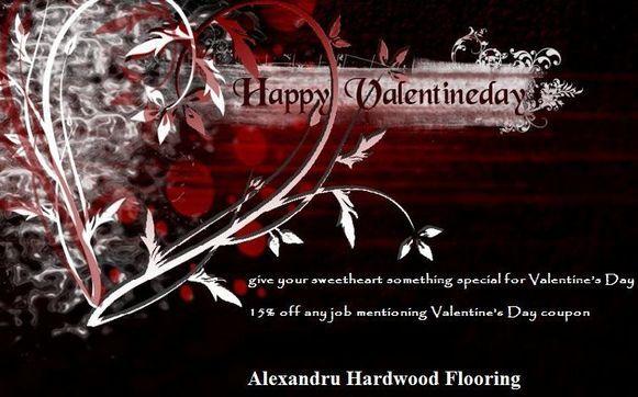 Valentine S Day At Alexandru Hardwood Flooring And Flooring