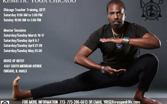 Kemetic Yoga Teacher Training Chicago Spring 2019 By Attractive Superb Multi Media In Chicago Il Alignable