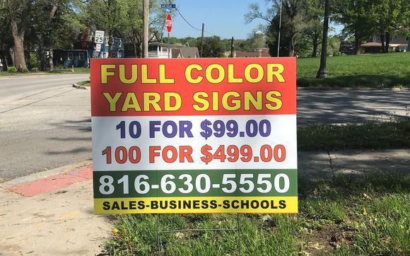 Low Cost Visibility With Yard Signs