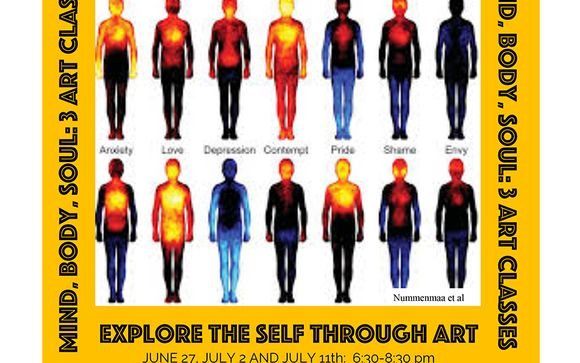 Mind Body Soul Three Art Classes By Art For Wellbeing
