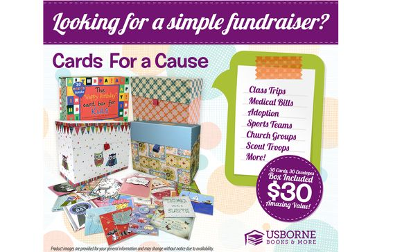 Cards For A Cause Fund Raiser By Usborne Books & More In Vienna