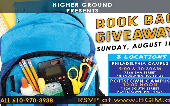 Free Book Bag School Supply And Sneaker Giveaway By Higher