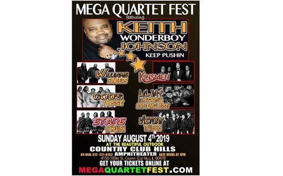 Mega Quartet Fest Country Club Hills