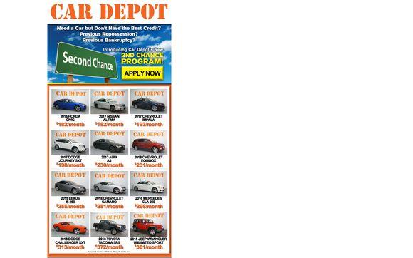 Second Chance Program By Car Depot Of Miramar In Miramar
