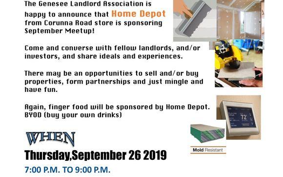Genesee Landlord Association Meetup By Genesee Landlords