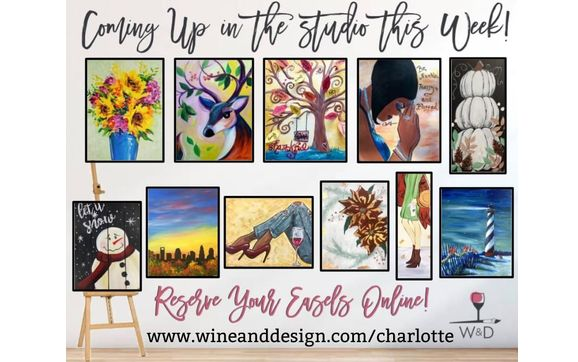 Get Your Art Buzz On At Wine Design This Month By Wine Design Charlotte In Charlotte Nc Alignable,Types Of Quasi Experimental Research Design