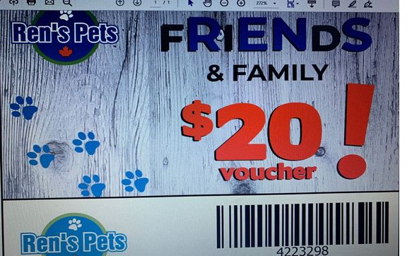 20 To Spend At Ren S Pets By Ren S Pets Mississauga In Mississauga On Alignable