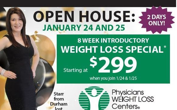 Open House By Physicians Weight Loss Centers In Raleigh Nc Alignable