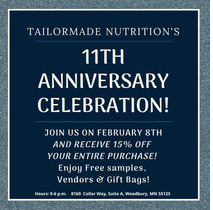 11th Anniversary Celebration! by Tailor