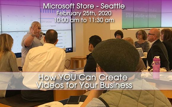 Free Workshop How You Can Create Videos For Your Business By Bwyse Internet Marketing Web Design In Redmond Wa Alignable