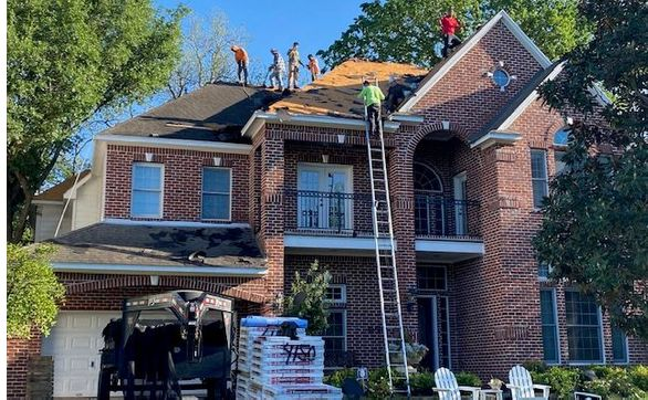 Roof Repair Or Replacement By Bellaire Roofing Co Inc In