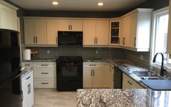 Kitchen refinishing by Majestic Touch Kitchens and More Inc ...