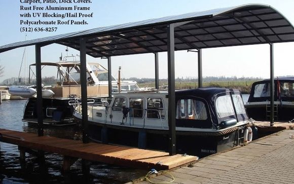Pjw Series Covers For Boat Docks And Carports By Jet Of Austin Carport Patio Pool Shade Covers In Austin Tx Alignable