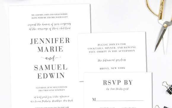 Wedding Invitations By State Of Grace Designs In Findlay Oh