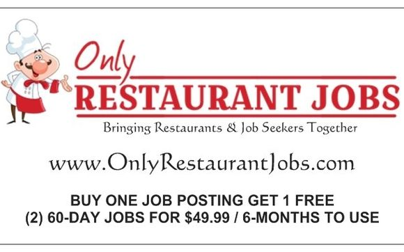 Post Find Restaurant Jobs Today By Onlyrestaurantjobs Com