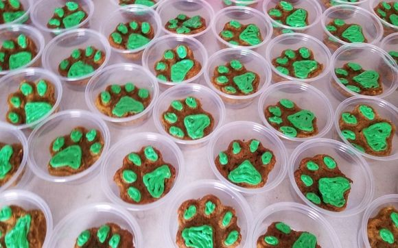 Pleasant Handcrafted Gluten Free Dog Treats And Cakes By Sassys Goodies Funny Birthday Cards Online Alyptdamsfinfo