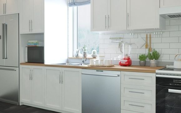 Wall-to-Wall Kitchen Set - 160\