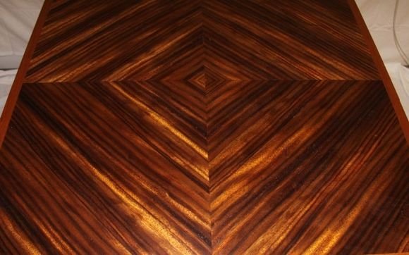 Zebra Wood Table Top By Woody A V Furniture Llc In East