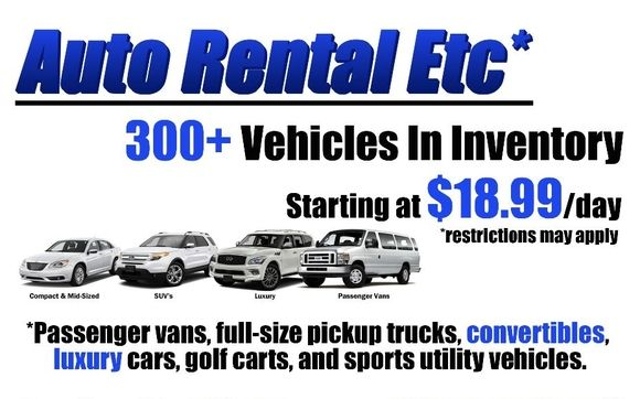 Car Rental Lafayette La >> Commercial Truck Van And Car Rental Available By Auto