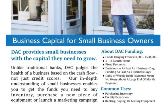 Small Business Funding 10k 500k And