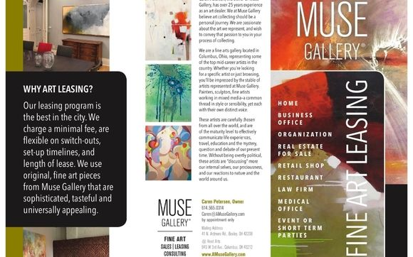 Art Leasing By Muse Gallery In Columbus