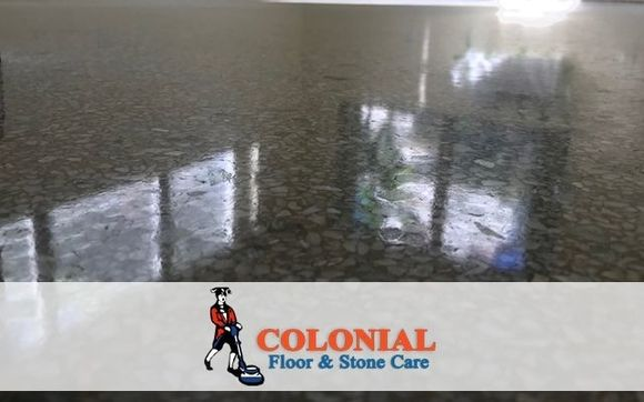 Terrazzo Floor Polishing By Colonial Floor And Stone Care
