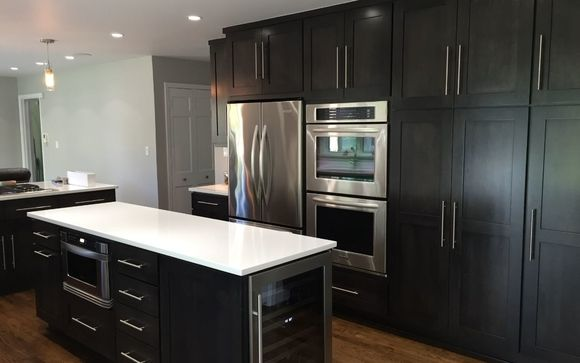Fieldstone and Custom Kitchen Cabinetry by Trisha Davis ...