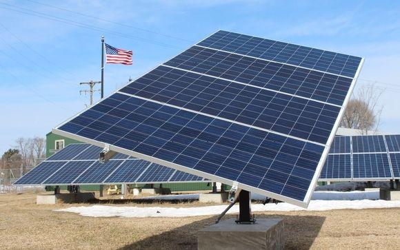4 Panel Solar Tracker By Cbs Solar In Copemish Area Alignable