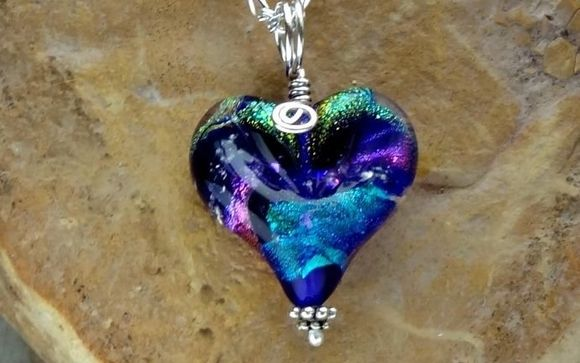 All My Love Memorial Heart Necklace Ashes In Glass By Over The Rainbow Memorials In Whitefish Mt Alignable