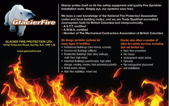 Fire Protection Design Engineering And Installation By Glacier Fire Protection Ltd In Abbotsford Bc Alignable
