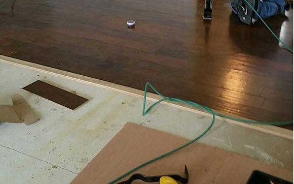 Hardwood Floor Installation By Precision Interiors Hardwood