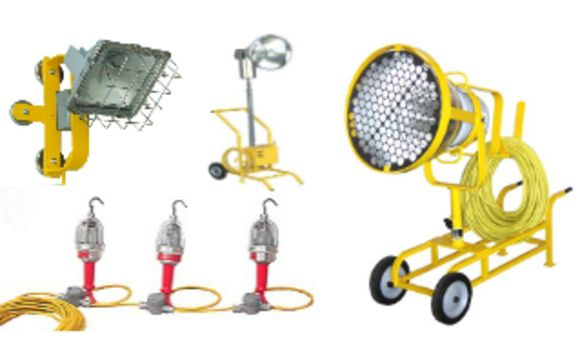 Portable Floodlighting Explosion Proof Lighting By Boss Ltr
