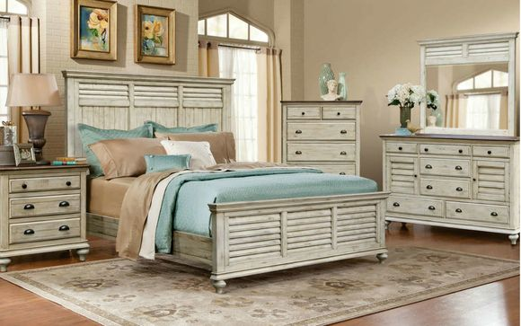 Factory Direct Solid Wood Bedroom Furniture by Seaboard ...