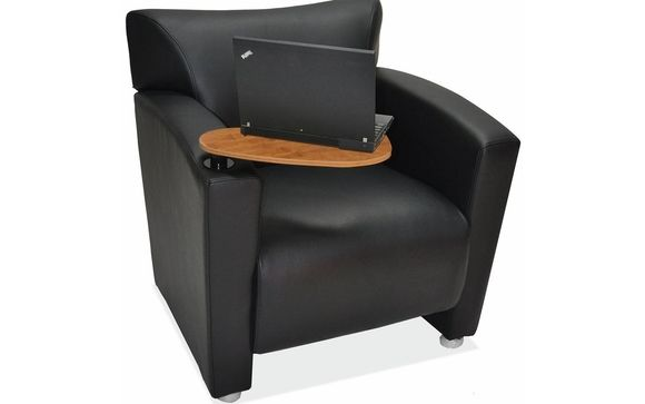 Lobby Seating Club Chair With Tablet Arm By Newvo