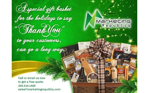 Gift Baskets with Customized Logos by