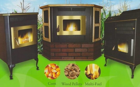 Amaizablaze Corn or Pelltet burning stoves by America's
