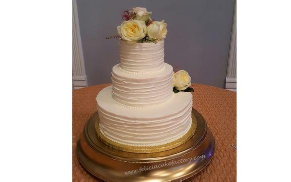 Sensational Wedding Cakes By Felicias Cake Factory Llc In Macon Ga Alignable Funny Birthday Cards Online Chimdamsfinfo