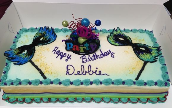 Superb Mardi Gras Birthday Cake By Baskin Robbins In Richmond Va Alignable Funny Birthday Cards Online Alyptdamsfinfo