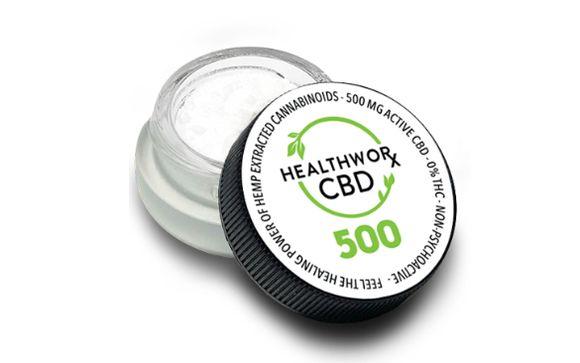 Healthworx CBD banner
