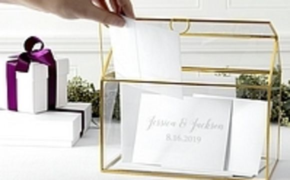 Personalized Wedding Gift Cards Holder By My Wedding Reception Ideas In Willard Area Alignable
