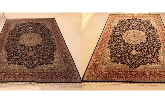 oriental/area rug cleaning by CLEAN