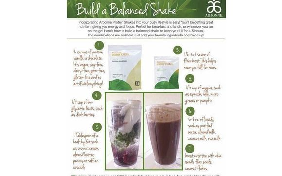 Arbonne Protein Shake Mix by Sue Gwin
