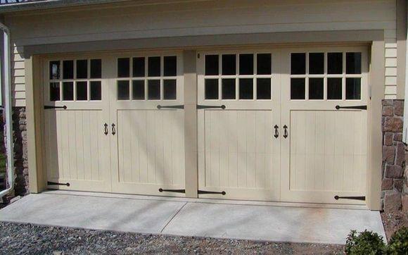 Craftsman Style Garage Doors By Granite