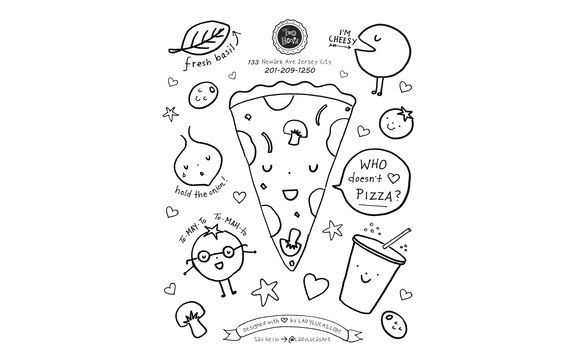 Cafe Shop, COFFEE SHOP, RESTAURANT Coloring Pages for kids ... | 362x580